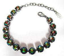 SoHo® Armband mit vintage bohemia glasstones ss39 iridis SoHo böhmisches Glas