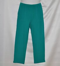 Linea by Louis Dell'Olio Knit Pull-On Crop Pants Size S Green