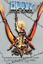 HEAVY METAL (1981) ORIGINAL MOVIE POSTER RE-RELEASE 1996  -  ROLLED