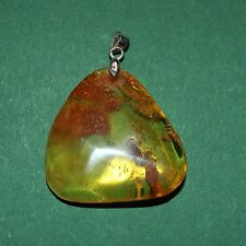 Pendant Natural Baltic Amber Stone 6,3g Butterscotch Egg Yolk