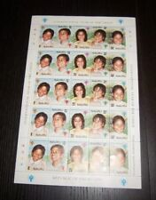 NAURU SC. 201 202 203 204 205 MINT SHEET INTERNATIONAL YEAR OF THE CHILD - IYC