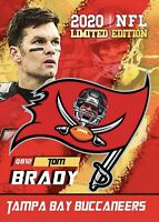 Tom Brady 2020 Limited Edition Tampa Bay Buccaneers Card