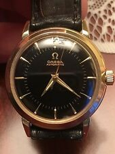 Omega Vintage Solid Gold Mens Watch  NEW PRICE!!