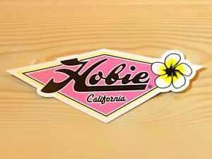 Vintage & Rare Hobie Surfboard Sticker Very Cool Colors A Must For Collectors!