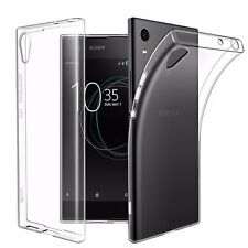 Soft Gel Clear Transparent Case Cover For Sony Xperia XA1 | XA1 Ultra