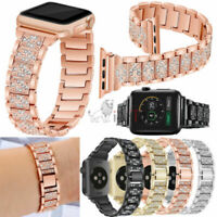 Stainless Steel Strap Link Bracelet+Connectors For Apple Watch iWatch 4 40/44mm
