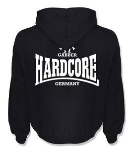 Hoodie Hardcore Gabber Germany Sweatshirt Hooded Pulli Frenchcore Uptempo Techno