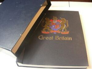 GREAT BRITAIN, Empty DAVO album with case.  GOOD Condition