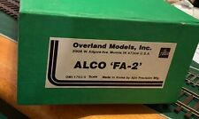 Overland Models Brass S Scale Unpainted ALCO FA-2 OMI-1763