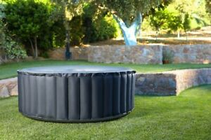 Whirlpool In-Outdoor Pool Heizung Massage aufblasbar MSpa SPA Ø180x70cm