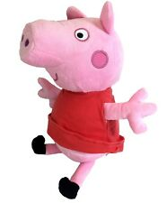 "New Peppa Pig Plush Pink Big Huge Doll 14"" Inches Stuffed Animal Toy"