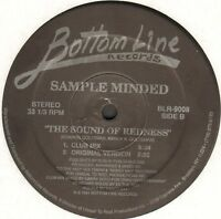 Sample Minded ‎– The Sound Of Redness - Bottom Line - BLR-9008 - USA