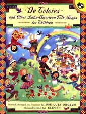 De Colores and Other Latin American Folksongs for Children (Anthology)-ExLibrary