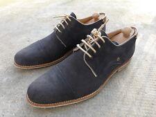Mexx Chaussures Dérbies en Daim Bleu de Nuit  T.42, 29.5 cm  parfait État