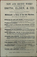 Smith, Elder & Co. Waterloo Place. Mehalah: A Story of the Salt Marshes Ad 1884