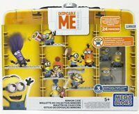 Mega Bloks Despicable Me Minions Carry Case with Stuart Phil Tim Mini Figure