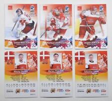 2017 BY cards IIHF World Championship Team Denmark Pick a Player Card