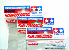 TAMIYA Finishing Abrasives P400 P600 P800set / 87054 87055 87056 / Made in Japan