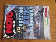$$$ Revue Moto Journal N°451 Daytona Pons Superman  Appel de phare  Ossa Trial