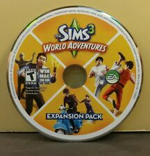 SIMS 3 WORLD ADVENTURES (PC) GREAT CONDITION (DISC ONLY) NO CODE #054