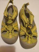Keen Metatomical Footbed Green Sneaker Hiking Shoe Sport Sandal 7.5 Waterproof
