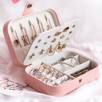 Damen Schmuckkasten Schmuckkoffer Schmuckkästchen Schmuckbox Aufbewahrungsbox