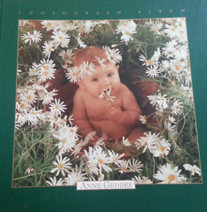 Anne Geddes Photograph Album - Baby Book - Hardcover