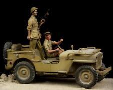 British Driver & Tommy Western Desert WW II 1/35 The Bodi 35114