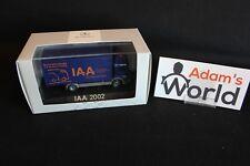 """Herpa Mercedes-Benz Atego 1:87 """"IAA 2002"""" (JS)"""