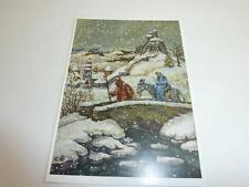 """vintage greeting cards Unused ARS SACRA  """"Keussen """"on the way to Bethlehem""""0009"""