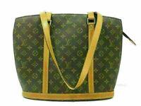 Auth LOUIS VUITTON Monogram Babylone M51102 Shoulder Bag PVC Leather Good 81322