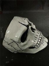New FRP Skull Skeleton Full Face Mask Cosplay Props For James Bond 007: Spectre