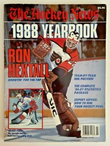 1988 THE HOCKEY NEWS NHL Yearbook Issue Hextall Fuhr Wayne Gretzky Lemieux