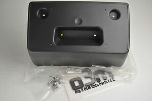 2015-2019 Chevrolet Colorado Front License Plate Bracket with Hardware new OEM
