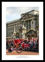 Bradley Wiggins 2007 Tour de France Cycling Photo Memorabilia (076)