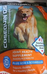 Cosequin DS Plus MSM & Boswellia Joint Health Supplement 120 Soft Tasty Chews