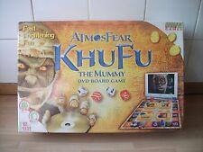 ATMOSFEAR KHUFU THE MUMMY : DVD BOARD GAME - IN VGC