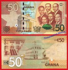 GHANA 50 Cedis 2015 (2016) Pick NEW 42 SC / UNC