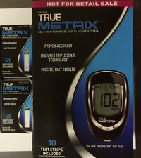 TRUE Metrix Blood Glucose 100 Test Strips Plus Meter  Exp: 07/30/2019
