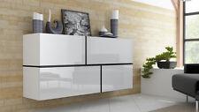 Kommode EXKLUSIVES DESIGN Sideboard Wohnzimmer Möbel ADARA hochglanz weiß