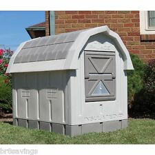New Heated Insulated Large Dog House Deluxe Dog Palace doghouse Floor Heater