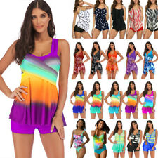 Womens Beach Tankini Swimsuit Swimwear Bikini Bathing Suit Summer Suit Plus Size
