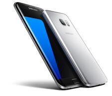 SAMSUNG Galaxy S7 EDGE SM-G935T 32GB-Argento Titanio-T-MOBILE USA-Grade A