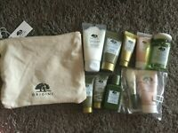 Brand New Origins Skincare 9 Pcs Gift Set Plantscription Mega Mushroom  + Bag