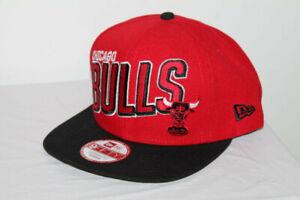 New Era NBA CHICAGO BULLS STRIKER RED/BLACK 9FIFTY SNAPBACK HAT