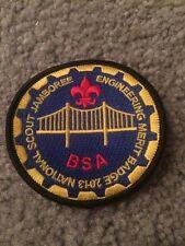 2013 National Jamboree Engineering Merit Badge Patch