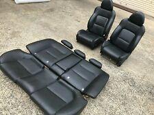 Subaru Liberty Sedan GEN 4 EJ H6 2003 06 Genuine Factory Black Leather Seats Set