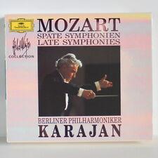 MOZART Late Symphonies – 3CD – Herbert Von Karajan – DG 1978 – 429 668-2