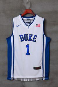 Duke Blue Devils #1 Kyrie Irving Basketball Jersey Men's -  Sizes : S-4XL