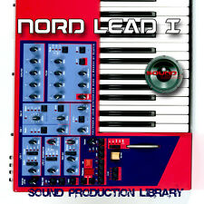 NORD LEAD I - unique original HUGE 24bit WAVE Multi-Layer Samples Library on DVD